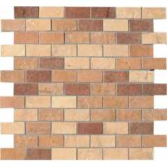 1014750 quarry stone mosaico matt mix light Мозаика cir