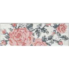 1047606 docklands inserto s1 flowers white Декор cir