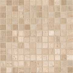 Travertino mosaico mix beige crema capri-trav-36 Мозаика